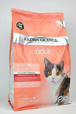 Arden Grange Cat Adult Salmon & Potato - losos & brambory 4 kg