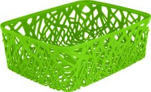 Curver košík, NEO, zelený, A4
