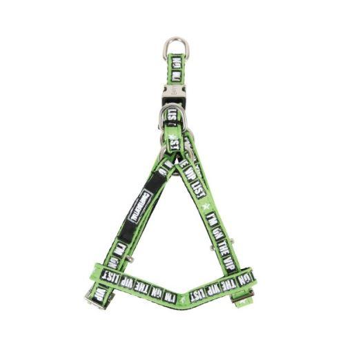 Zolux Envy Vip postroj nylonový zelený s kovovou přezkou