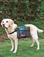 Trixie Nylonový ruksak na záda pro psy - velikost M, 23x15 cm