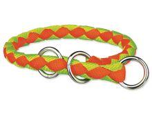 Obojek TRIXIE Cavo Neon oranžovo-zelený L 1ks