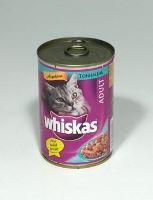Whiskas konzerva s tuňákem 400g