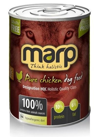 Marp Pure Chicken konzerva pro psy 400g