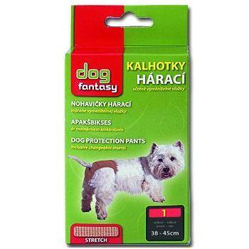 Dog Fantasy hárací kalhotky béžové - velikost M
