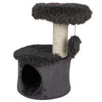 Zolux Yeti One cat tree škrabadlo černé, 35x35x53 cm
