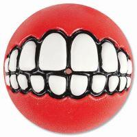 Rogz hračka pes Balon Grinz guma červený - M