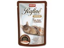 Animonda Rafine Soupe Senior Kapsička - krůta & kachna & šunka pro kočky od 7 let 100 g