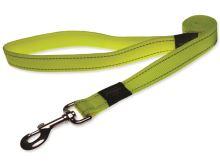 Vodítko pro psa nylonové - reflexní - Rogz Utility - žluté - 2 x 180 cm