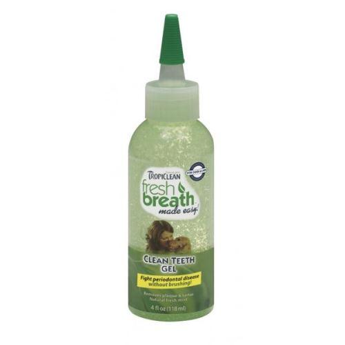 Tropiclean Clean Teeth Gel - gel pro psy na čištění zubů