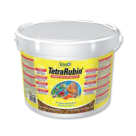Tetra Rubin vločkové krmivo pro zvýraznění barevnosti ryb 10 l