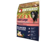 ONTARIO Dog Adult Large Chicken & Potatoes & Herbs 2,25 kg