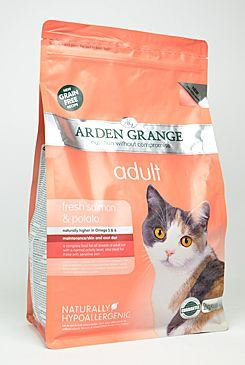 Arden Grange Cat Adult Salmon & Potato - losos & brambory