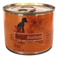 Dogz Finefood No.8 Konzerva - krůtí & kozí maso pro psy 200 g