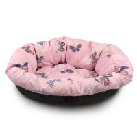 Polštář Morfeo do plastového pelechu Argi 65 cm - růžový