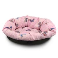 Polštář Morfeo do plastového pelechu Argi 80 cm - růžový
