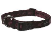 Obojek pro psa nylonový - Rogz Alpinist - fialový - 2,5 x 43 - 70 cm