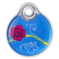 Známka ROGZ ID Tagz Denim Rose L