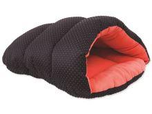 Vak spací DOG FANTASY černo-oranžový 45 cm 1ks