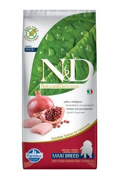 N&D Grain Free Dog Puppy Maxi Chicken & Pomegranate