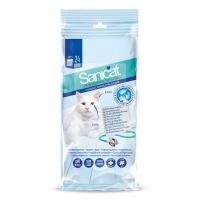 Sanicat čisticí ubrousky na oči a uši pro kočky, 24 ks
