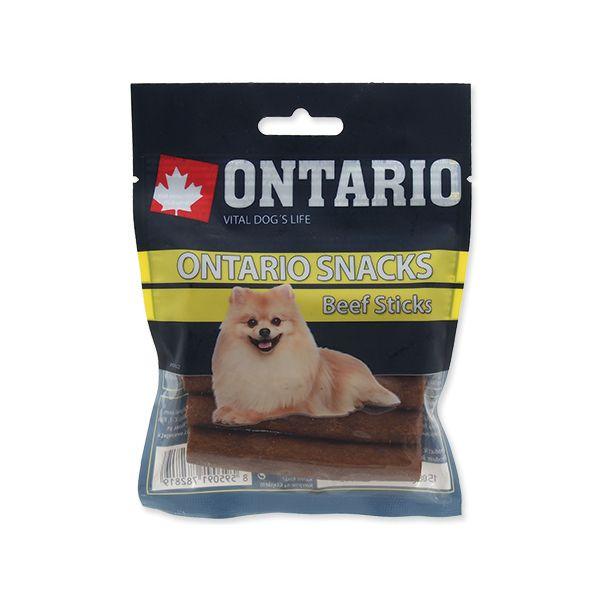Snack ONTARIO Dog Rawhide Stick 7,5 cm