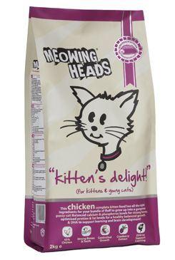 Meowing Heads Kittens Delight - kuřecí pro koťata