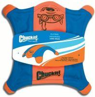 Chuckit! létající talíř veverka L - oranžovo-modrá