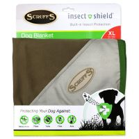 Deka SCRUFFS Insect Shield Blanket hnědá 145 x 110 cm 1ks