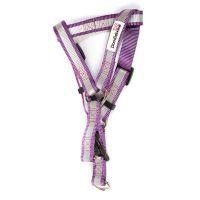 Doodlebone reflexní lehký postroj, fialový, velikost XL