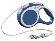 Flexi Vario Samonavíjecí vodítko lankové modré - 3m/8kg