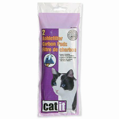 Hagen Cat It Design uhlíkový filtr pro toalety s krytem 2 ks