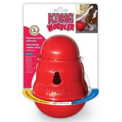 Kong Wobbler Plnitelná superodolná gumová hračka