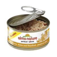 Almo Dog Nature pes konz. štěně kuře 280g