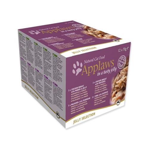 Konzervy APPLAWS Cat Jelly Selection multipack 12 x 70 g