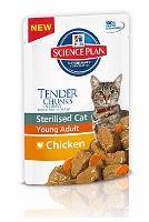 Hill's Feline kapsička Adult Young Sterilised Chicken - kuřecí pro kastrované 85 g