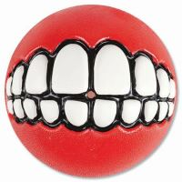 Rogz hračka pes Balon Grinz guma červený - L
