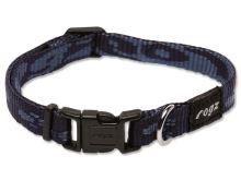 Obojek pro psa nylonový - Rogz Alpinist - modrý - 1,1 x 20 – 32 cm