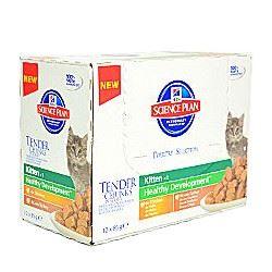 Hill's Feline kapsička Kitten Multipack - drůbež a mořská ryba pro koťata 12x85 g