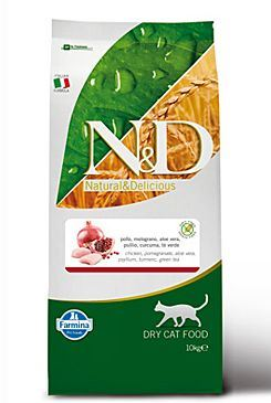 N&D Grain Free Cat Adult kuře + granátové jablko