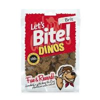 Brit pochoutka Let's Bite Dinos 150g NEW