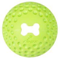 Rogz Gumz gumový míček pro psy plnicí limetkový