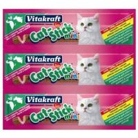 Cat Stick VITAKRAFT Mini Ente + Kaninchen 3 ks