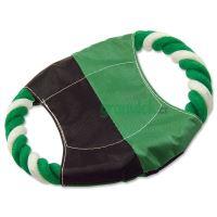Disk DOG FANTASY létací zeleno-bílý bavlna + nylon 17,5 cm