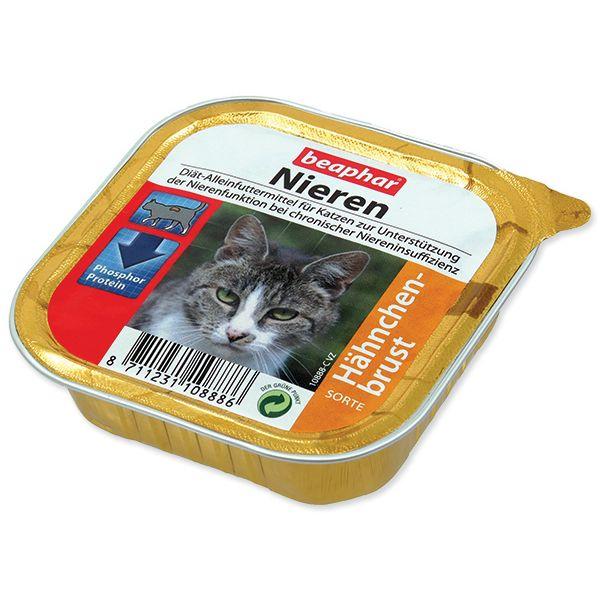 Paštika BEAPHAR Renální dieta pro kočky s kuřetem 100 g