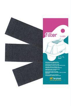 Ferplast L483 Náhradní uhlíkový filtr k WC pro kočky