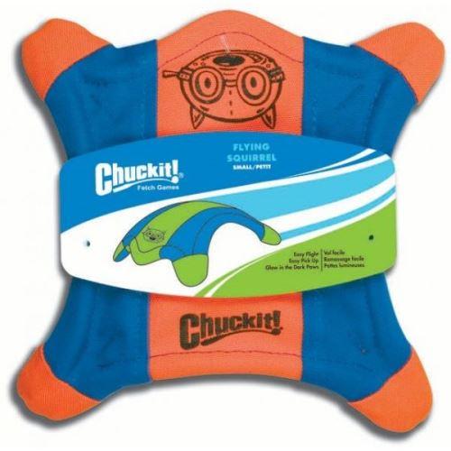 Chuckit! létající talíř veverka oranžovo modrá