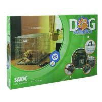 Savic Dog Residence Klec do auta se dvěma dvířky pro psy a kočky, 107x71x81 cm
