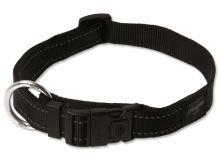Obojek pro psa nylonový - Rogz Utility - černý - 2,5 x 43 - 70 cm
