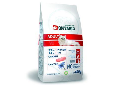 Ontario Cat Adult Chicken 400 g