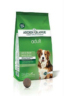 Arden Grange Dog Adult Lamb